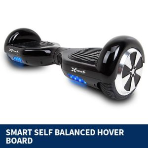 self balancing scooter black 2